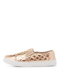 Rose Gold. All I have to say about these slip ons from Charlotte Russe is rose gold. Oh yeah and $24.99!