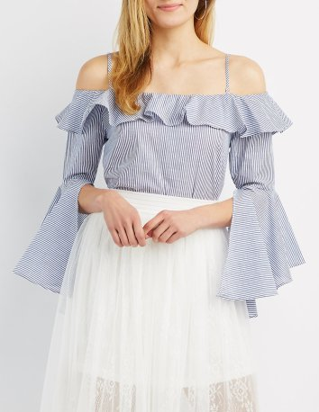 I think this might be my favorite piece from this blog. This top is EVERYTHING I didn't know I needed. And it's only $24.99 from Charlotte Russe. Sign me UP.